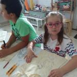 Мастер-класс по росписи сумок в детском творческом лагере Шале в Измайлово